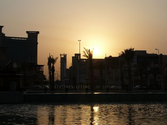 Al Kout Mall Sunset