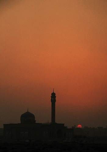 BuYousef's Mosque Sunset