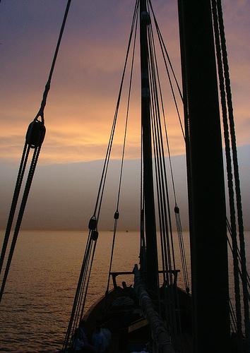 BuYousef Sailing Sunset