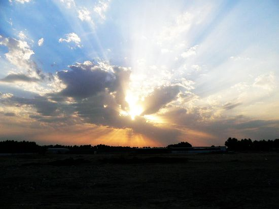 Wafra Sunset