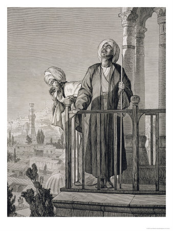 122772~The-Muezzin-s-Call-to-Prayer-19th-century-Posters