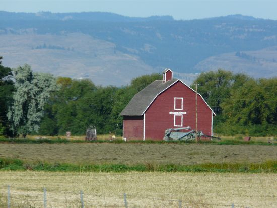 """""""Why Are Barns Painted Red?"""" « Here There And Everywhere"""