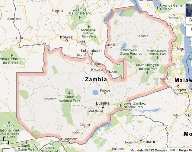Where Is Zambia Here There And Everywhere - Where is zambia