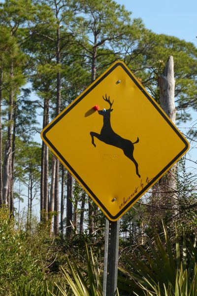 00StMReindeerCrossingSign
