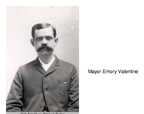 Mayor Emory Valentine