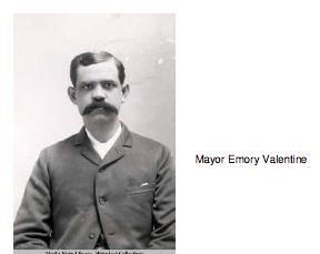 Mayor Emory Valentine