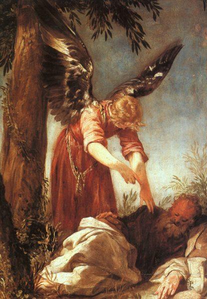 juan-antonio-frias-y-escalante-an-angel-awakens-the-prophet-elijah