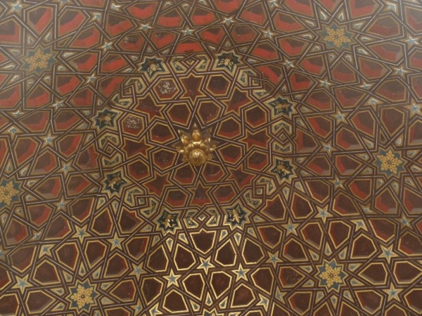 Alcazar; Ceiling Embassy hall