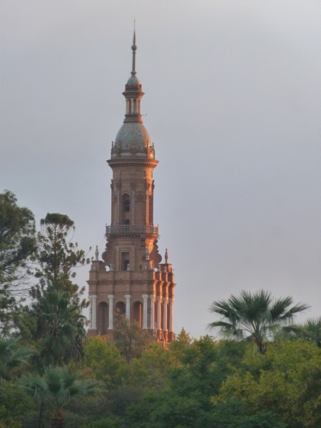Tower in Maria Luisa Park