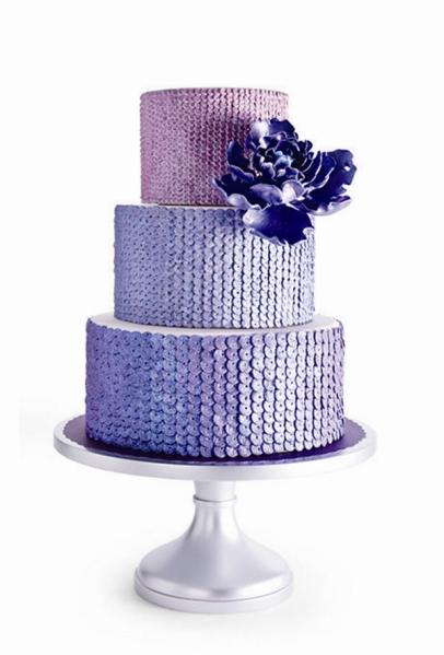 amazing-shiny-blue-glitter-wedding-cake-ideas