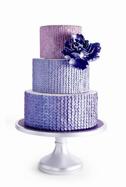 amazing-shiny-blue-glitter-wedding-cake-ideas