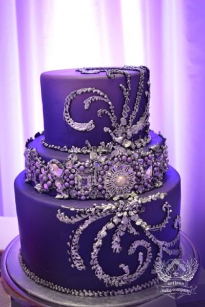purple_jeweled_cake-Artisan Cake Co