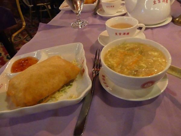 PekingSuppe&Eggroll